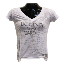 Tanning is My Cardio T-Shirt