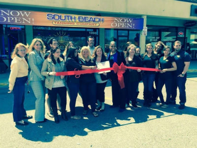South Beach tanning Company - Port Jefferson Grand Opening