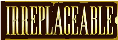 Irreplaceable Logo