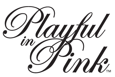 Playful in Pink Logo
