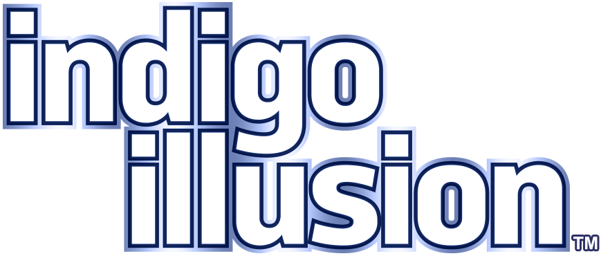 Indigo Illusion™ Logo